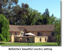 BellaVita's beautiful country setting
